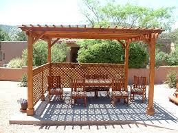Enclosed Backyard Best Backyard Arbor How To Build Backyard Arbor U2013 Design And