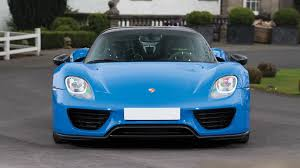 porsche voodoo blue this is the only arrow blue porsche 918 and it u0027s for auction