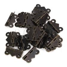 what size screws for cabinet hinges bqlzr 20pcs diy repair bronze decorative mini butterfly hinges s
