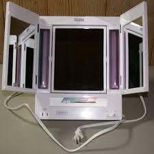 Tri Fold Bathroom Mirror by Interior Trifold Mirror Tri Fold Full Length Mirror Tri Fold