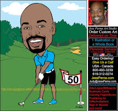 order sports caricatures and party invitations sports