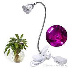 hydroponic led grow lights led grow light 5w full spectrum led clip on desktop grow l cl