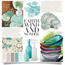 Sea Glass Home Decor Best Sea Glass Decor Products Wanelo