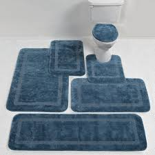 light blue bathroom rugs lighting navy memory foam bath mat dark