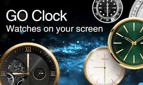 clock themes for android mobile go clock alarm clock theme apps on google play