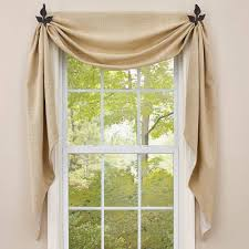 fishtail swag curtains country style curtains