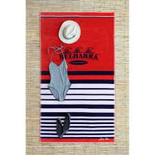 fabricant serviette de plage drap de plage cenitz original créations jean vier