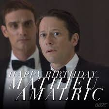 sean connery martini james bond 007 happy birthday to mathieu amalric