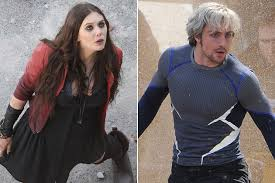 quicksilver movie avengers image avengers 2 scarlet witch quicksilver set pics lead jpg