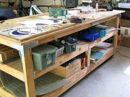 free woodworking table designs steel work table plans working