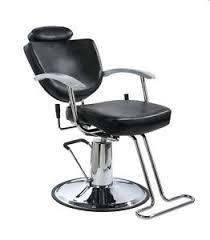 Reclining Salon Chairs New Black Fashion All Purpose Hydraulic Recline Barber Salon Chair