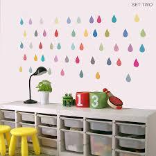 raindrop vinyl wall stickers by oakdene designs raindrop vinyl wall stickers