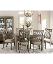 7 dining room sets ripa home hayley 7 pc dining set dining table 6 side