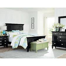 Summer Breeze Black Collection Master Bedroom Bedrooms Art - Bedroom sets at art van