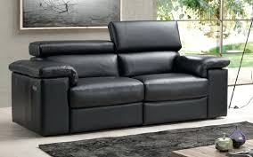 Black Leather Sofa Recliner 2 Seater Recliner Leather Sofas Euprera2009