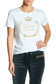 juicy couture wreath relaxed tee nordstrom rack