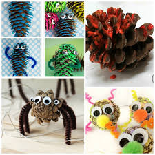 pine cone crafts for kids growing a jeweled rose