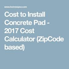 best 25 concrete cost calculator ideas on flooring