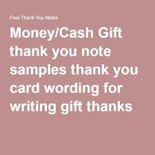 wedding gift thank you notes wedding thank you notes for money beneficialholdings info