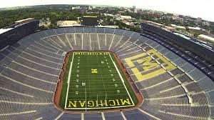 michigan stadium to host seven high football games in