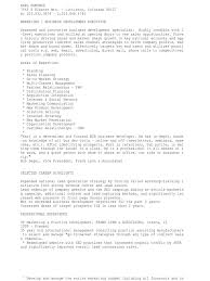 C Level Executive Resume Download Territory Manager Sales Business Development In