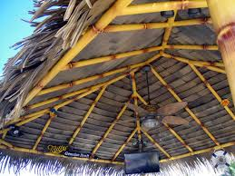 How To Build Tiki Hut Tiki Hut Roof Flat Roof Pictures