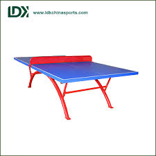 used outdoor ping pong table selling low price table tennis training equipment outdoor table