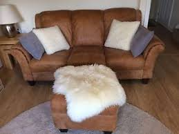 Peyton Leather Sofa Dfs Peyton Leather Sofa Footstool Ebay