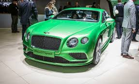 bentley coupe 2016 2016 bentley continental gt tweaking the twelve u2013 news u2013 car and