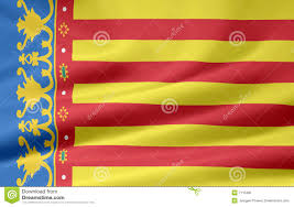 flag of valencia spain royalty free stock photo image 7115395