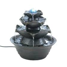 Small Water Fountains For Desk Small Water Fountains For Desk Lotus Bloom Tabletop Water