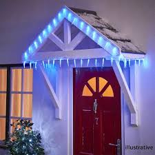 Outdoor Icicle Lights Garden Outdoor Icicle Lights Buy At Best Prices