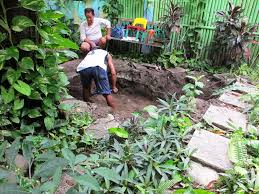 philippines phil a funeral not attended a fish pond started