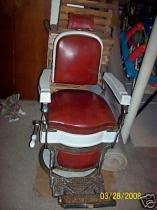 Old Barber Chair Cost To Ship 1925 Koken Barber Chair Vintage From Norristown