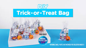 make your own diy trick or treat bags for halloween evite