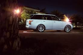 modified range rover range rover hse gets modified with adv 1 wheels black diamond mafia