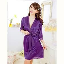 robe de chambre femme satin femme satin nuisette pyjamas déshabillé peignoir robe