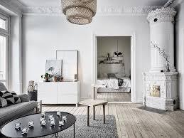 simple decor in the old scandinavian apartment design attractor