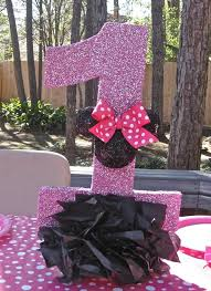 Centerpieces For Minnie Mouse Party by Minnie Mouse Centerpiece Idea Minnie Mouse Party Pinterest