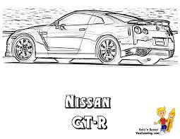 nissan skyline drawing powerful car printables free kids printables cars coloring