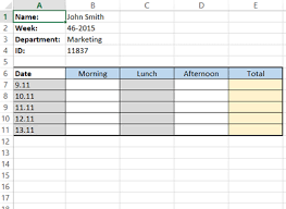 how to make a timesheet in excel how to create a simple excel timesheet a visual guide