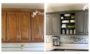 painting over oak kitchen cabinets kitchen replacements showroom stainless ideas diy crafts small