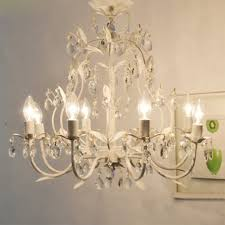 branch chandelier country style vintage white rococo palais tree branch