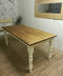 rectangular pine dining table 4ft x 3ft solid pine small kitchen table farmhouse table ideas