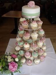 wedding cupcake tower pastel themed wedding cupcake tower