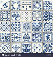 indigo blue tiles floor ornament collection gorgeous seamless