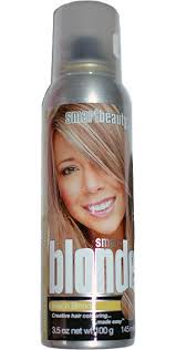 smart beauty temporary hair spray in beach blonde at boston costume