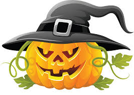 pumpkin cartoon pic witch clipart