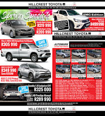 specials hillcrest toyota leading the way since 2003