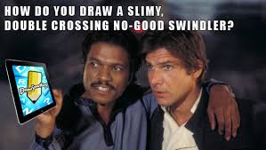 Lando Calrissian Meme - jedi mouseketeer meme week star wars draw something bespin